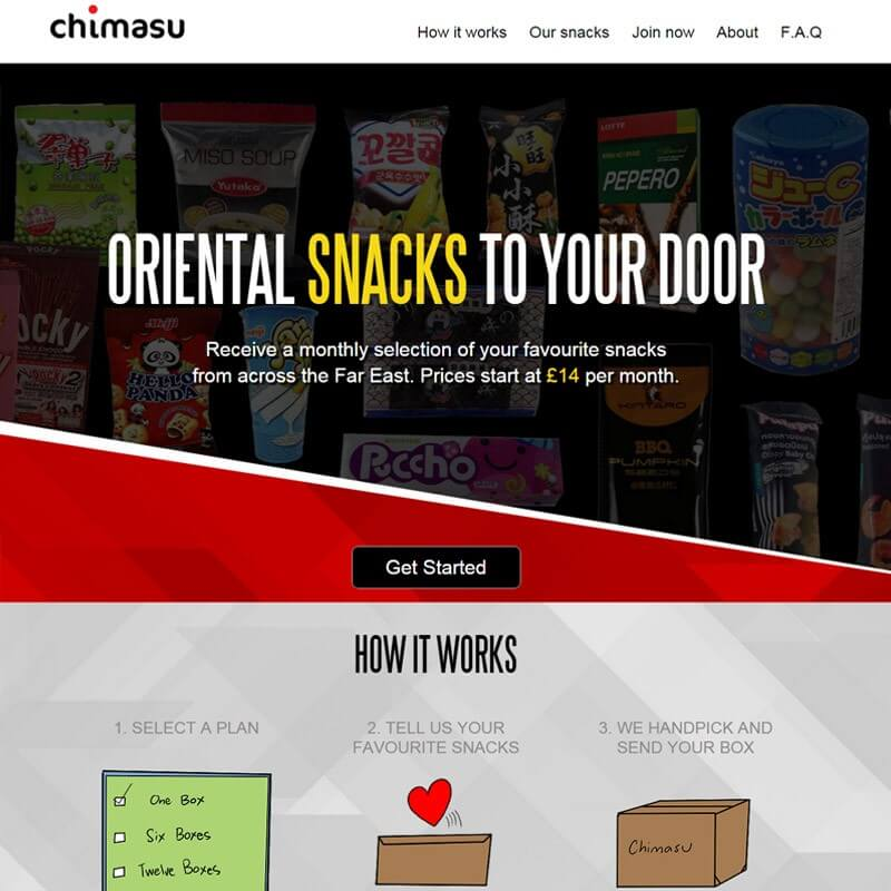 Top 10 CrateJoy Website Design-chimasu