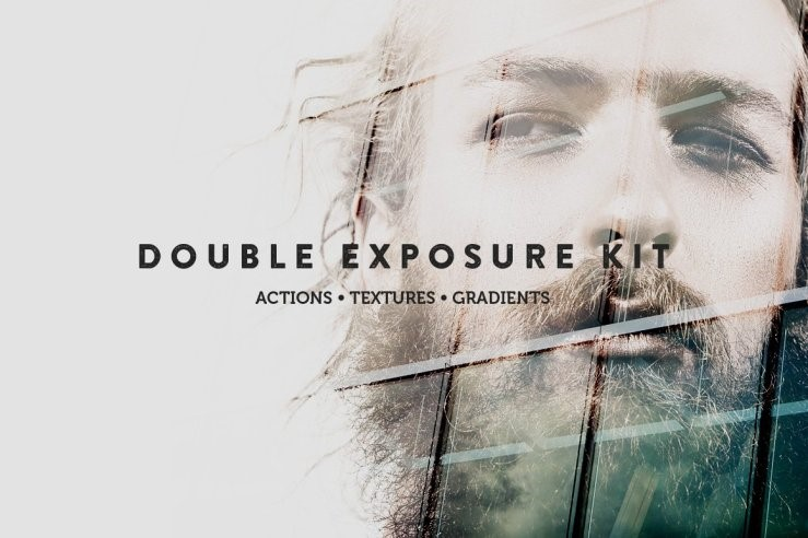 Web Design Trends 2018-double exposure