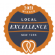 Excellence Award Winner by UpCity!
