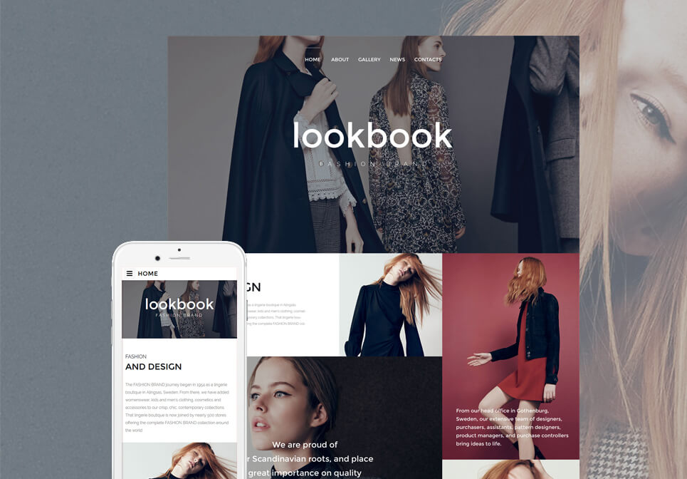 Top 10 Premium Fashion Website Template Themes
