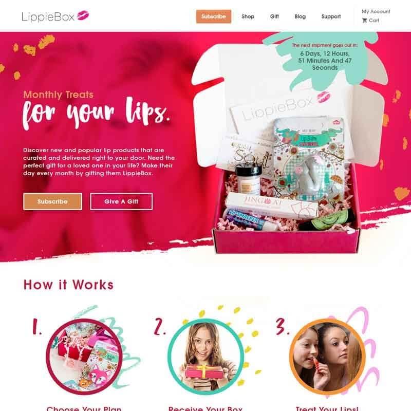Top 10 CrateJoy Website Design-lippie box