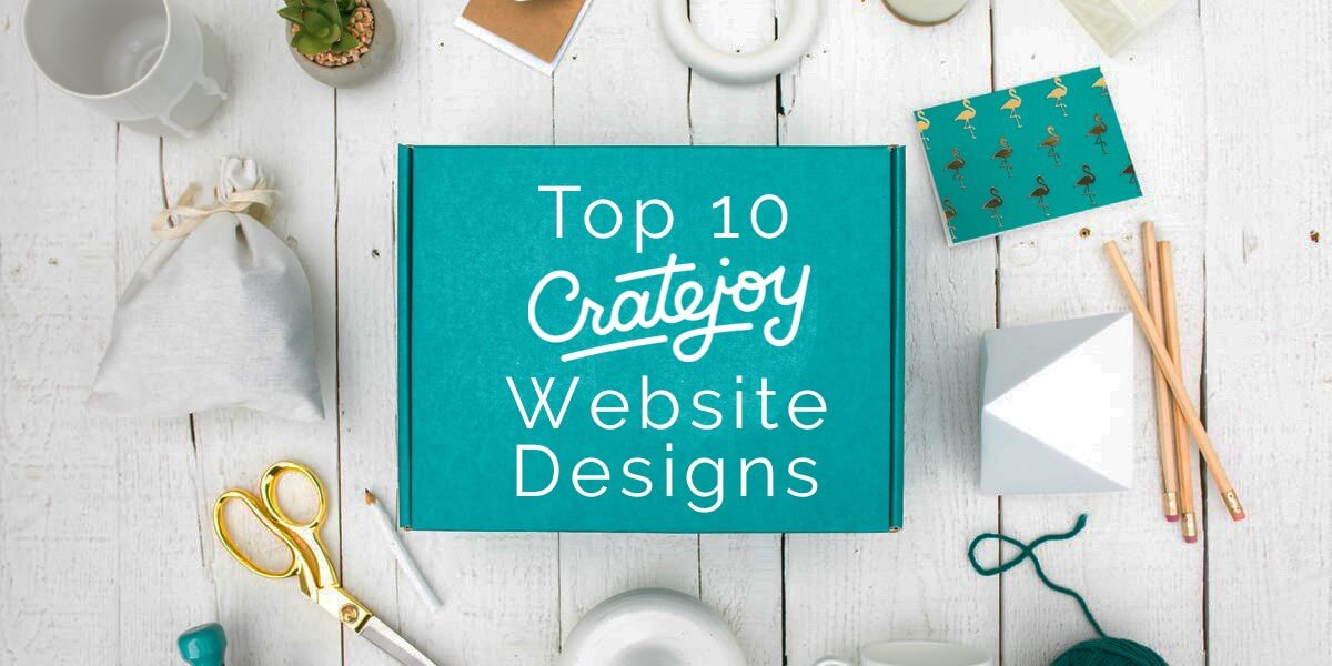 Top 10 CrateJoy Website Design